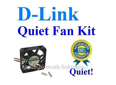 1x Quiet replacement fan for D-Link DGS-3450, Best for Home (Best Fan For Home)
