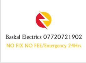 Barnet-Enfield Electricians/24Hours/No Fix No Fee /07720721902
