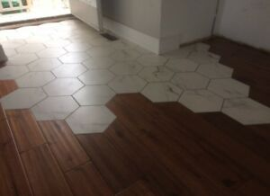 Insured and Affordable Flooring Contractor- Laminate Hardwood Vi