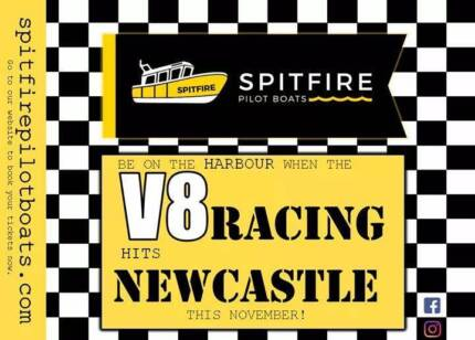 Newcastle V8's - Harbour Tours