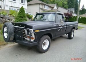 1978 Ford F250 3/4 ton 4x4 - REDUCED FROM $10,000