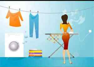 Ironing Service Available $25 per basket Picton Wollondilly Area Preview