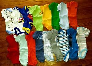 3 and 3-6 month onsies