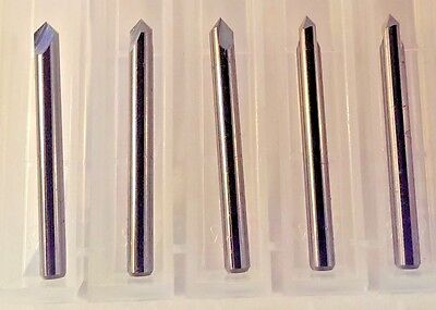 18 .125 2 Flute 90 Degree Carbide Chamfer Mill Spot Drill 5-pack Usa Made