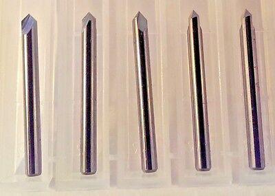 "3//16/"" Diam x 5//8/"" Cut x 2/"" OAL 2 Flute Square Carbide End Mill USA Made 5-Pak B9"