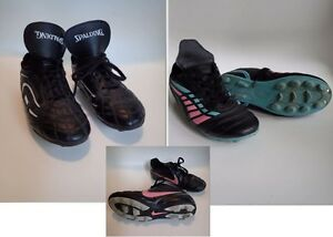 Size 1, 2 and 3 Boys & Girls Soccer Shoes $6/each London Ontario image 1