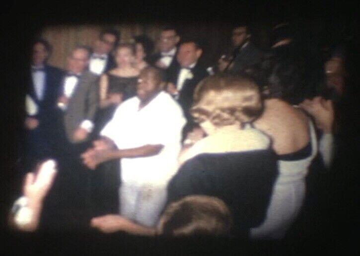 c1965 People Dancing Dance Party Band Standard 8mm Home Movie Film Reel