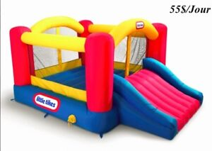 Jeux gonflables - à louer/Inflatable games - for renting