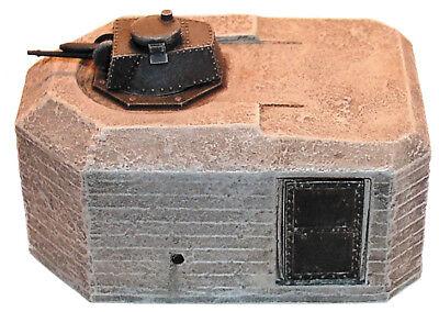 1:285//300 NEU 6mm WK 2 Bunker für Panzerturm 3 Maßstab