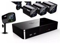 New Full hd 4 camera cctv System