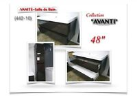 """(442-10) VANITÉ (48"""") /Collection """"AVANTI"""" /PRIX-RÉDUIT! 390.00$"""