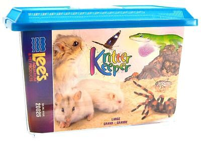 "Lee's Kritter Keeper with Lid Large (14.5""L x 8.75""W x 9.75""H)(Assorted Colors)"