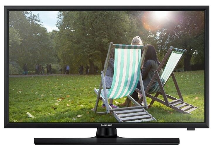 """Image of Samsung T24e310 24"""" Led Lcd Tv Monitor Freeview Hd Tuner Hdmi X2 Scart Usb"""