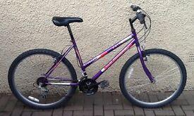 """Bike/Bicycle. LADIES UNIVERSAL """" WILD THING """" MOUNTAIN BIKE"""