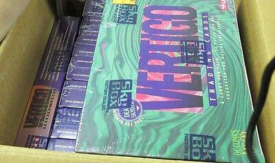 6 BOX LOT Vertigo DC Comics Trading Card box + 1 DC Vertigo Comic *Mature