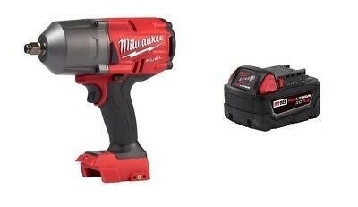 "Milwaukee 2767-20 M18 FUEL ½"" Impact Wrench GENII 1400lbs & (1) 48-11-1850 5.0AH"