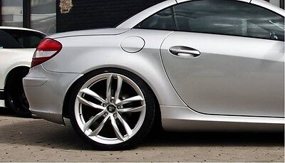 17 Zoll UA6 Alu Felgen für Mercedes C CL B E Klasse GLK GLC GLA Cabrio Coupe SLK