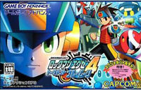 Gameboy Advance Game - RockMan EXE 4 Tournament Blue Moon