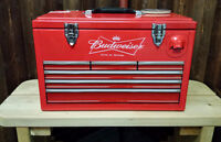 Toolbox & Rolling Beer Coolers