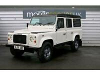 2005 Land Rover Defender 110 county station wagon 9 seater air con electric ...