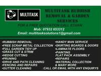 Rubbish Removals / Free Scrap Metal Collection / Garden Services
