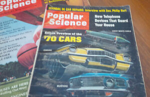5 Issues of Popular Science, 1952, 1967, 1969, 1970, 1972 Kitchener / Waterloo Kitchener Area image 3
