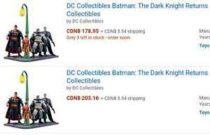 DC collectables  the dark knight returns 4 pack