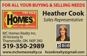 LOOKING FOR HOME IN RIDGETOWN