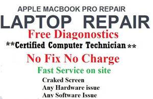 LAPTOP REPAIR  ON SPOT ****BY CERTIFIED PROFESSIONAL