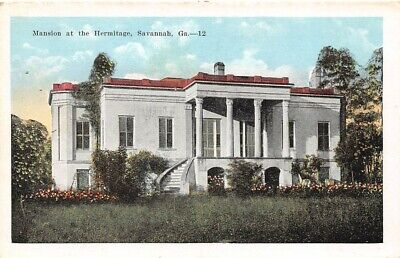 Mansion at the Hermitage Savannah Ga 12 pub S H Kress white border