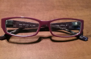 LADIES PURPLE AND PINK REBEL FRAME