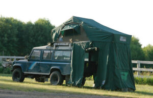 Roof-top safari tent: Hannibal 1.4m with annex