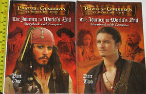 Pirates of the Caribbean at Worlds End 1 & 2 Hard Cover Books London Ontario image 1