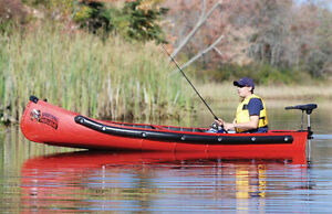 Sportspal 14 ft squareback canoes - Last one in green