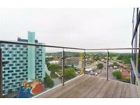 LUXURY 12TH FLOOR APARTMENT - CONCIERGE - BALCONY - WOOD FLOORING - MINS FORM TUBE - PART FURNISHED