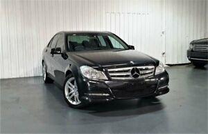 2012 Mercedes-Benz C-Class W204 MY12 C200 CDI BlueEFFICIENCY 7G-Tronic + Black 7 Speed