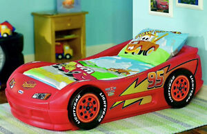 Lighting McQueen Twin bed frame and mattress! $250 ONO