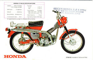 Honda CT90 Parts or Parts Bike