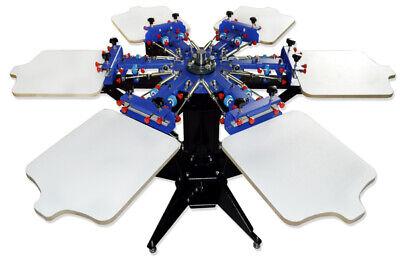 6 Color Silk Screen Printing Machine Diy Press Equipment Printer For Shirt