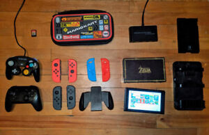 Nintendo Switch Bundle Accessories and Account