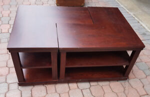 Unique end table- Coffee table
