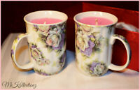 Beautiful Handmade Vintage Cup Candles $10 each