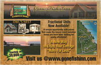 Lakefront Seasonal RV Site Cabin Rentals