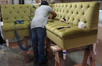 Upholstery and woodworking