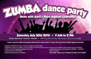 LET'S ZUMBA(R) FOR AVRIL'S FIGHT AGAINST LEUKEMIA!