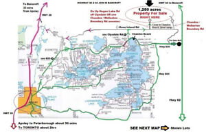 Land for Sale - Over 1,200 Acres - $1,499,000 - Great Property