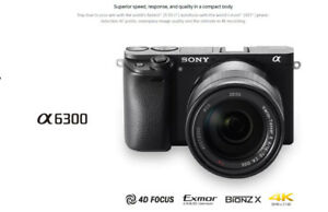 Sony a6300 E-Mount ILCE-6300L E PX 16-50mm Kit