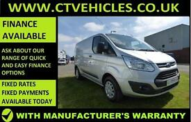 2015 65 Ford Transit Custom 2.2TDCi 125ps 290 L1H1 Trend High spec SILVER