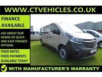2016 16 Vauxhall VIVARO COMBI 1.6 CDTi ecoFLEX BiTurbo 2900 LWB Start/stop
