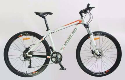 "new high-quality VORLAD mountain bike with hydraulic/27.5""wheels."